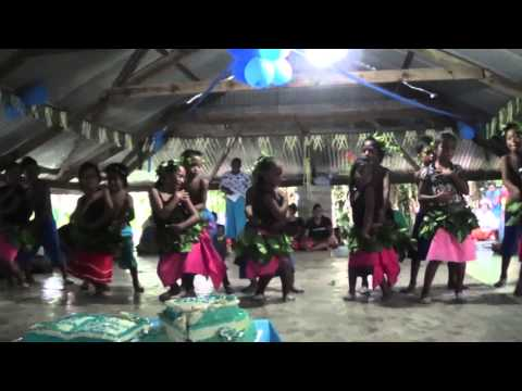 Jnr  Tioti 1st birthday celebration at Vatikano Butaritari Kiribati.