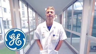 GE Needle ASSIST and LOGIQ E9 XDclear 2.0 testimonial by Prof. Seror