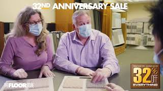 The Floor Store Anniversary Sale
