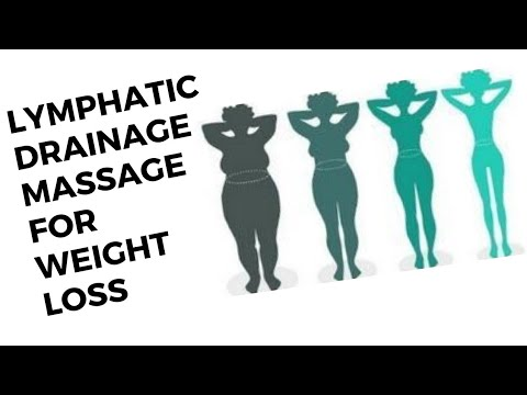 Lymphatic drainage massage for weight loss