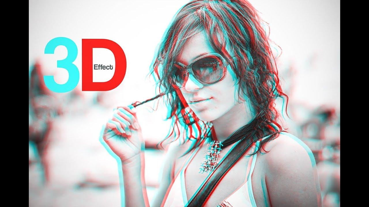 Anime Glasses Effect Photoshop