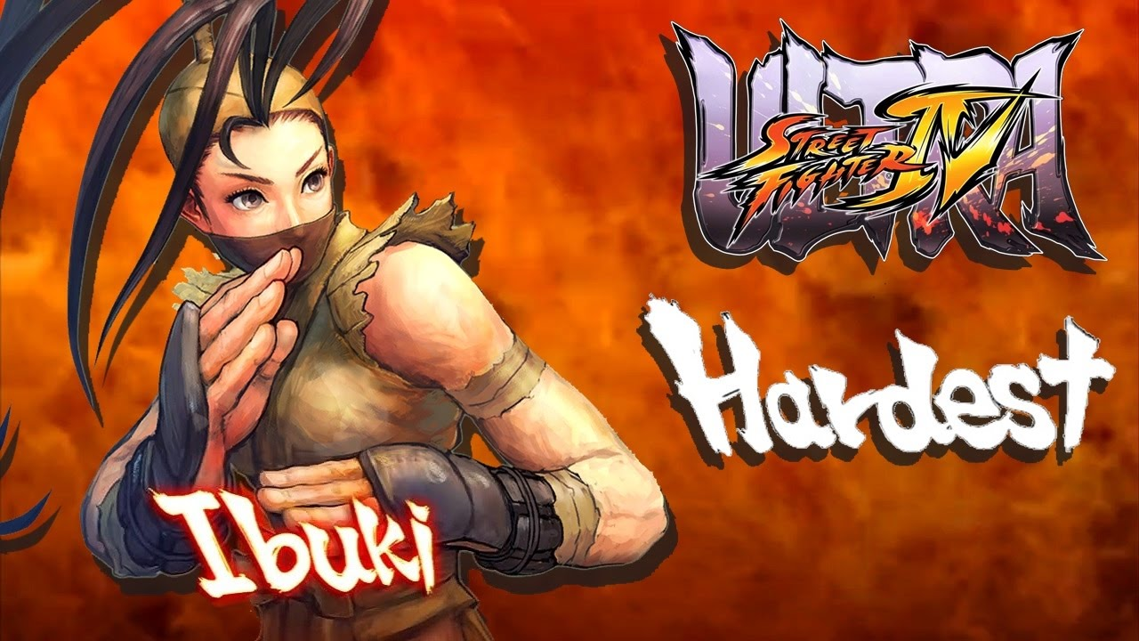 Ultra Street Fighter IV - Ibuki Arcade Mode (HARDEST)