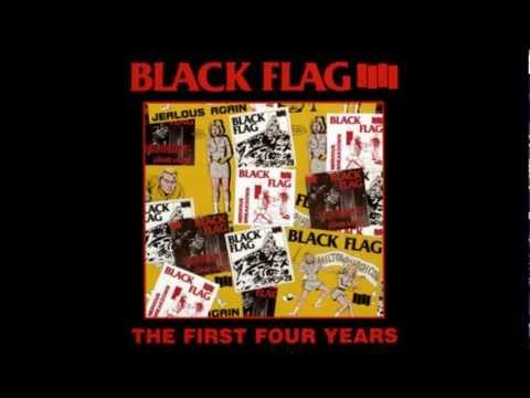 Black Flag - wasted (Lyrics)