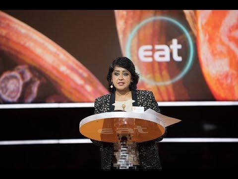 President of Mauritius Ameenah Gurib-Fakim at EAT Stockholm Food Forum 2017