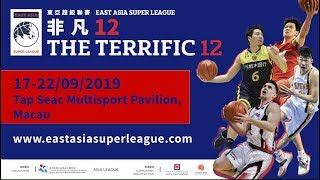 East asia super league - the terrific 12 is returning to macao on 17-22/9! premier asian club from 4 asia's top professional leagues are set ...
