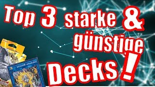 Yu-Gi-Oh! TOP 3 BESTE EINSTEIGERDECKS in November 2018 !