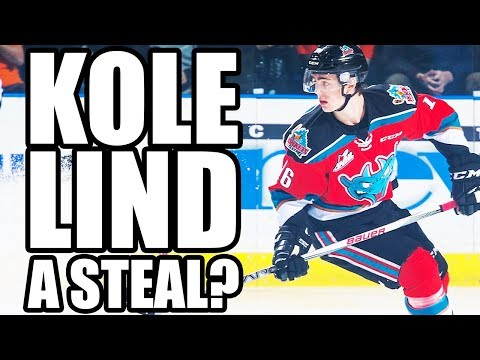 Kole Lind Is The Next Vancouver Canucks Steal Of The 2017 NHL Entry Draft (Better Than Cody Glass?)