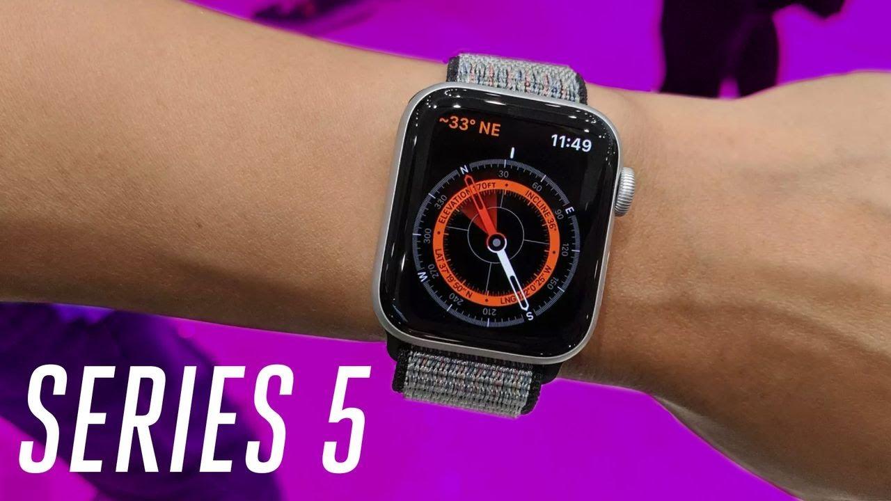Apple Watch Series 5 Hands On