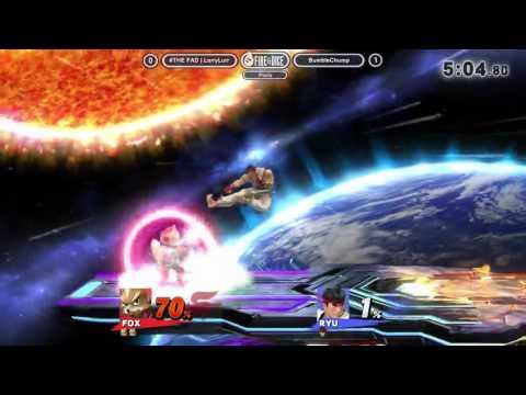 Frame Perfect - #THE FAD | LarryLurr (Fox, Donkey Kong) vs BumbleChump (Ryu)