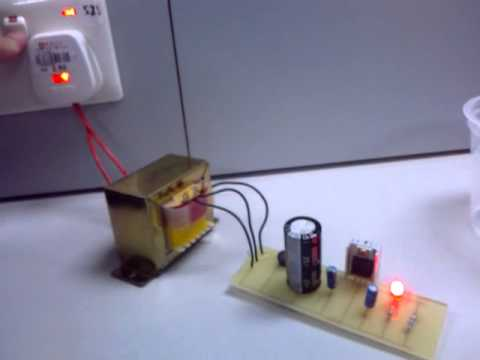 Electrical project using Transformers and LED - YouTube