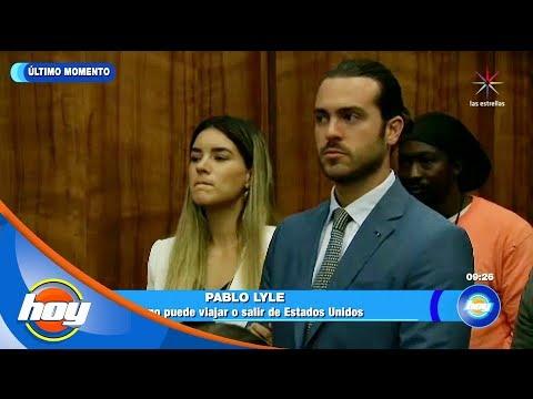 ¡Niegan permiso a Pablo Lyle de viajar a México! | Hoy