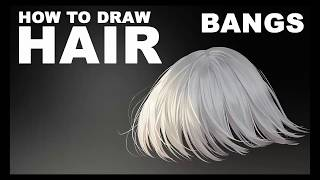 How to draw hair 2