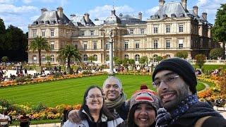 Conhecendo os Jardins de Luxemburgo em Paris