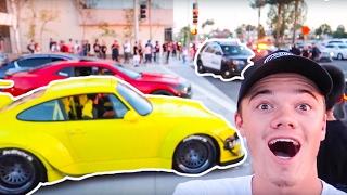 worlds craziest car meet cops everywhere