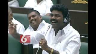 MLA Rasamayi Balakrishna song on KCR Deeksha in Telangana Assembly