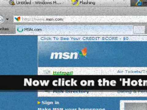 Windows Live Messenger Account Creating Tutorial