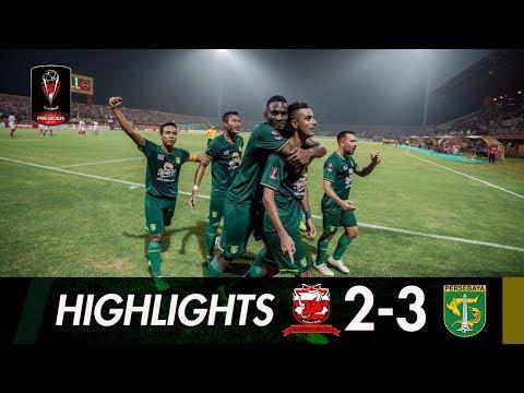 [HIGHLIGHTS] Final Kami Datang!   Madura United vs Persebaya   Semifinal Leg 2 Piala Presiden 2019