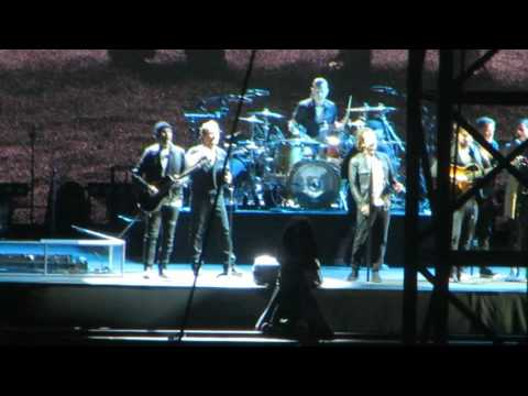 """U2, Seattle; """"Mothers of the Disappeared (w/Eddie Vedder)"""