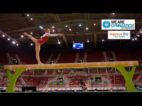 HIGHLIGHTS - 2016 Olympic Test Event, Rio (BRA) - Women's Individual Apparatus finals