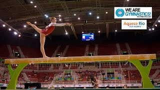 HIGHLIGHTS - 2016 Olympic Test Event, Rio (BRA) - Women's Individual Apparatus finals thumbnail