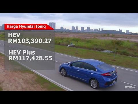 Hyundai Ioniq Hybrid 2017 - Roda Pusing Review