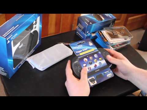 Unboxing PS Vita System
