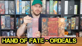 Hand of Fate - Ordeals - Review - Regeln - Brettspiel - Boardgame Digger