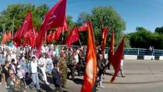Празднование Дня Победы (г.Дружковка 2013 г.)