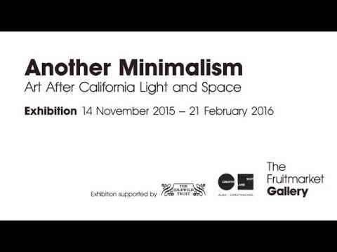 Another Minimalism: Art After California Light and Space at The Fruitmarket Gallery