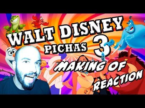 MAKING OF Walt Disney Pichas 3 | Video Reaccion | Reaction | Español