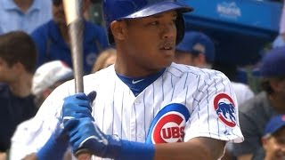 9/4/15: Cubs belt four homers to cruise past D-backs