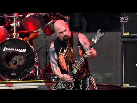 The Big 4 - Slayer - Chemical Warfare Live Sweden July 3 2011 HD