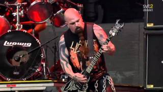 The Big 4 - Slayer - Chemical Warfare Live Sweden July 3 2011 HD