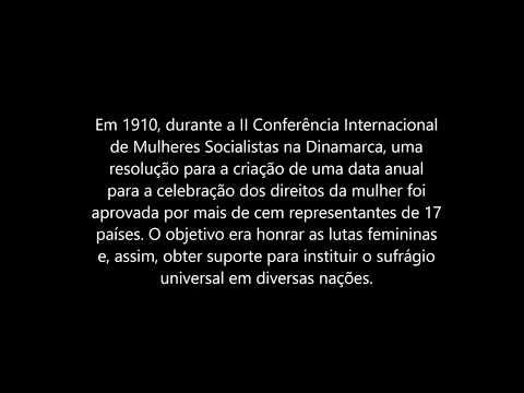 Como Surgiu o Dia Internacional Da Mulher