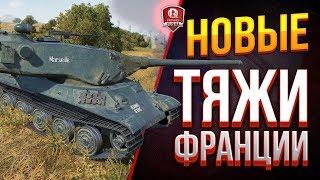 КАК ИГРАТЬ НА НОВЫХ ТЯЖАХ ФРАНЦИИ ● ОБЗОР AMX M4 mle. 54