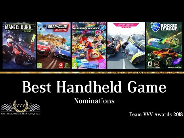 Team VVV Awards 2018 - Best Handheld Game