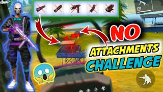 No Attachments Challenge- Is Headshot Working Without Attachments?- Free Fire Romeo Gamer????