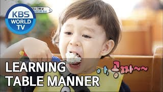 Learning table manner [The Return of Superman/2019.07.14]