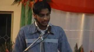 FUNNY SPEECH IN CHAKWAL CAMPUS