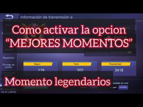 """COMO ACTIVAR OPCIÓN """" MEJORES MOMENTOS DE LA PARTIDA """"- MOBILE LEGENDS Bang Bang español 2019 thumbnail"""