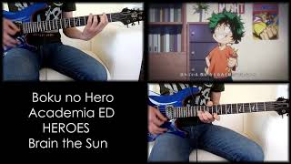 [TABS] Boku no Hero Academia ED - 「HEROES」 Guitar Cover
