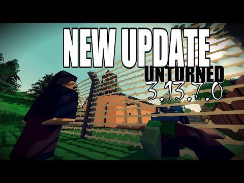 New Update - Barbed Fences, Aggresive animals & More - Unturned Update 3.13.7.0