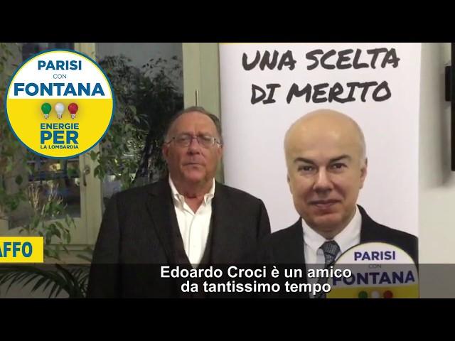 Intervista a Mauro Della Porta Raffo: perchè votare Edoardo Croci