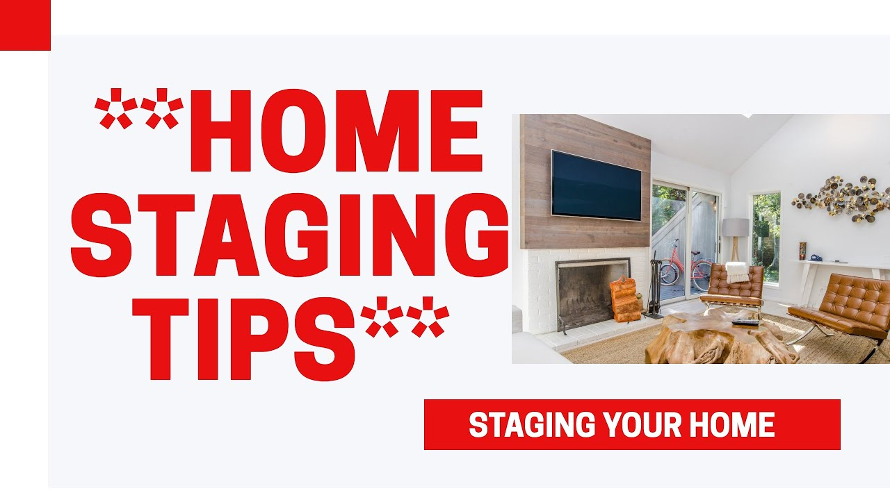 HOME STAGING TIPS. How to Stage a House.Staging a home for ...