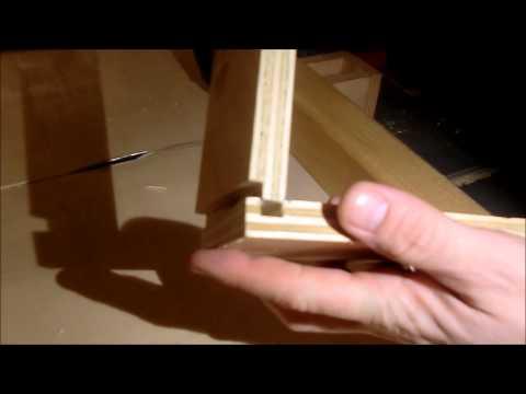 Šuplíky z překližky do dílny