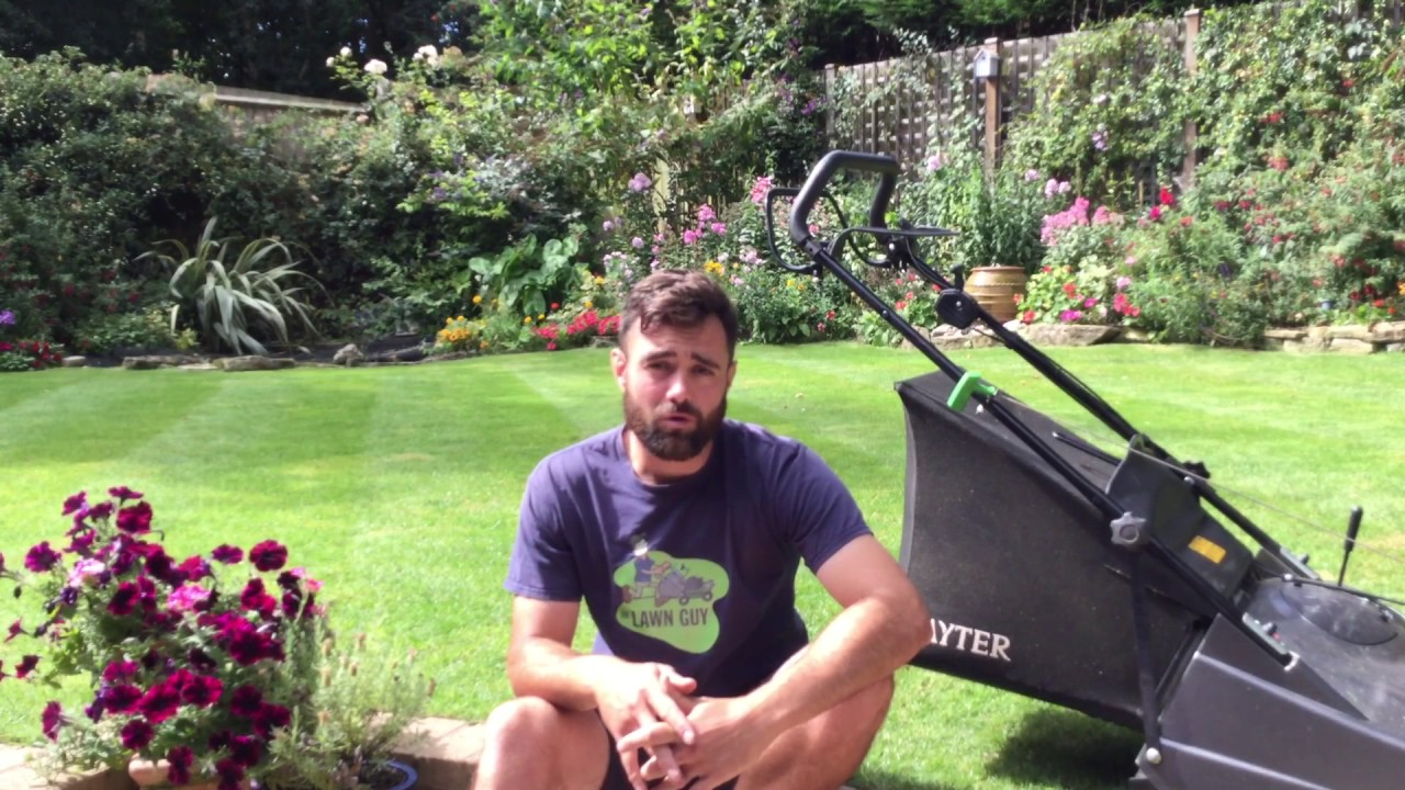 Kulpa mowing the lawn drunk and naked - YouTube