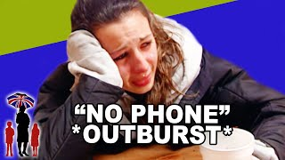"Teen's Fist Reaction to ""No Technology for a Day"" 