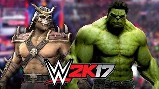Hulk Vs Shao Kahn