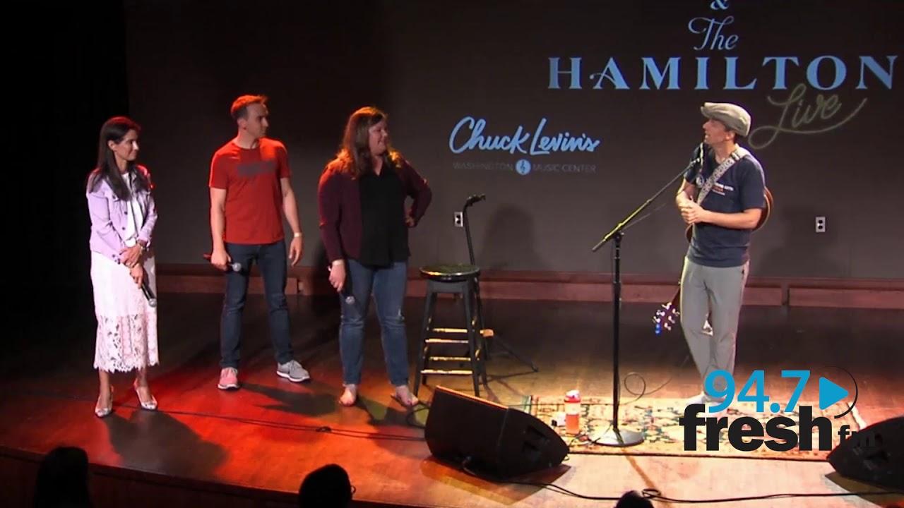 Jason Mraz Performs At The Hamilton Live For 947 Fresh FM