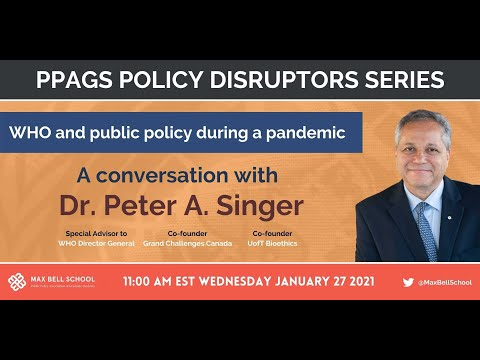Policy Disruptors - WHO and Public Policy During a Pandemic